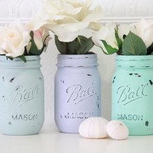 他の写真2: メイソンジャー Ball Mason jar ペイントビンテージシリーズ×1個