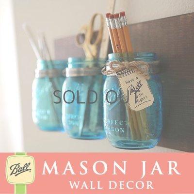 画像4: 壁掛け メイソンジャー 3連 Ball Mason jar パープル