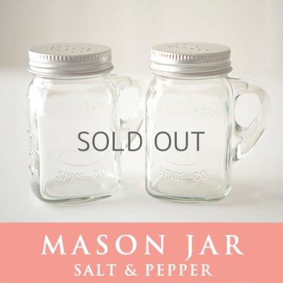 画像1: メイソンジャー Mason jar ソルトアンドペッパー ホルダー