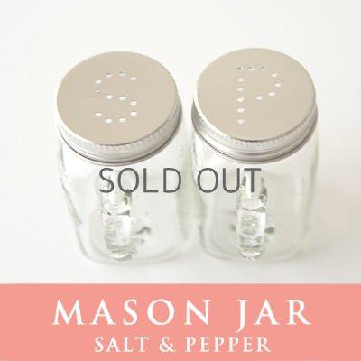 画像2: メイソンジャー Mason jar ソルトアンドペッパー ホルダー