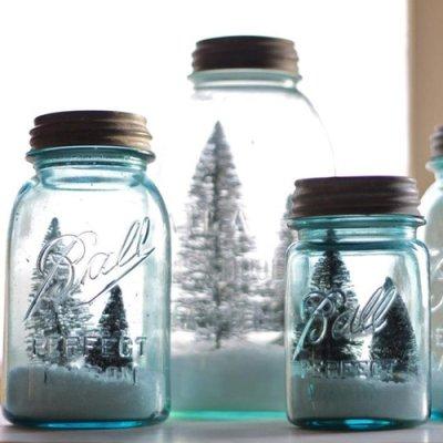 画像5: アンティーク メイソンジャー Ball Mason jar  ビンテージ Pint(パイント) Zinc蓋つき ブルー