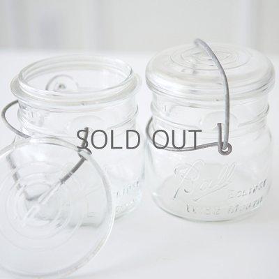 画像2: アンティーク メイソンジャー Ball Mason jar  ビンテージ ワイドマウス ワイヤー型 ホワイト